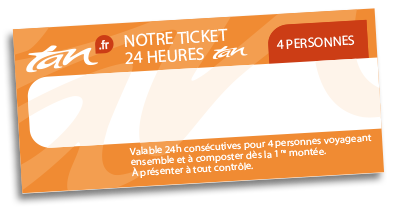 Ticket 24h 4 personnes