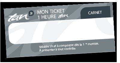 Carnet 10 tickets 1h