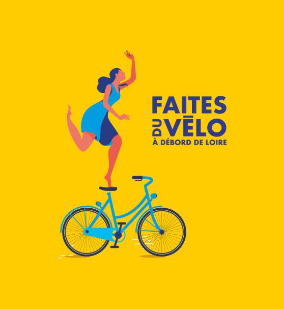 Illustration Faites du vélo