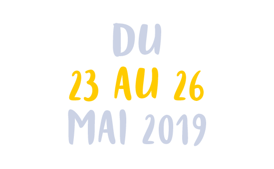 """Du 26 au 26 mai 2019"""